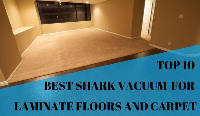 Top 10 best shark vacuum for laminate floors and carpet