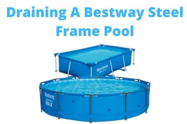 draining best way pool