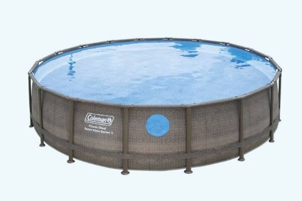 how to drain coleman pool